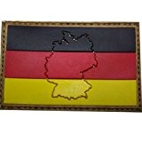 "3D Rubber Patch ""Deutschland"""