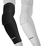 Arm Sleeve Basketball Shooting Sleeve Handball Armstulpe Volleyball Kompressions Armstulpen mit Elbogenpolsterung The Fearless Herren und Damen