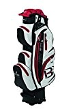 Bennington QUIET ORGANIZER 14 HOLE Waterproof Cartbag black-white-red