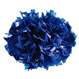 Cheerleading Pom Poms, Royal Blau (10 Stück)