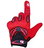 FRG-02 American Football Handschuhe Receiver, Empfänger fit, RE,DB,RB, rot