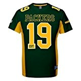 Majestic Green Bay Packers Moro Est. 21 Mesh Jersey NFL T-Shirt
