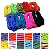 Neverland 5M 550 Paracord Parachute Cord Lanyard Desert Survival III 7 Core Strand Rope (Various color to Choose)