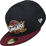 New Era NBA Team 59Fifty Cap CLEVELAND CAVALIERS Dunkelblau Rot