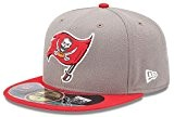 New Era NFL Tampa Bay Buccaneers Cap On Filed 59fifty Basic Fitted Cap Kappe Men