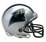 NFL Riddell Football Mini-Helm Carolina Panthers