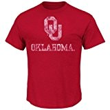 "Oklahoma Sooners Majestic ""Always Admired"" Weathered T-Shirt - Red"