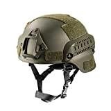OneTigris MICH 2000 Aktion Version Taktische Helm ABS Helm mit NVG Halterung und seitliche Schienen
