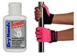 Pole Dry Hands Plus GoGrip Pole Fitness Handschuhe Hot Pink Nicht-Tack