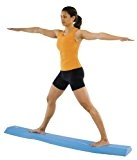 Power Systems Airex Balance Beam, Soft Foam 2-in-1-Balance Beam, 175,3 x 22,9 x 6,3 cm, blau (81010)