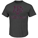 "Texas A&M Aggies Majestic ""Always Admired"" Weathered T-Shirt - Charcoal"