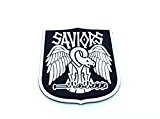 The Saviours Walking Dead Fan Patch PVC Klett Emblem Abzeichen