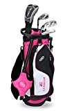 US Kids 2017 Golf Ultra Light, 5 Club Ständer Golf Set mit Bag (129,5 cm Höhe)