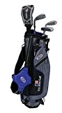 """USA Kinder 2017 Golf Ultra Light, 4 Club Stand Golf Set mit Bag (114,3 cm Höhe)"
