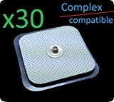 X30 Tens Pads 40 x 40 mm GENERICAS Compex Kompatible.