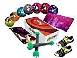 ZUMBA® Join the Party 2 Toning Sticks, 7 DVDs EXHILARATE + 2 Carpet Glider